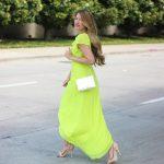 Lime Green Dream Dress