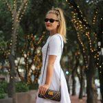 White Hot Skater Dress