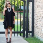 Black Dress and a Statement Necklace