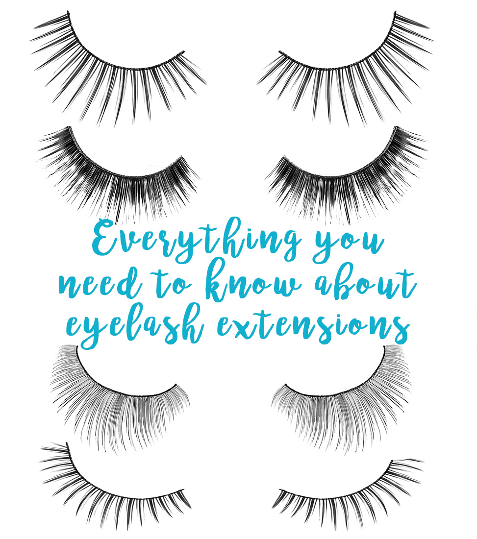 What are eyelash extensions - Everything you need to know about eyelash extensions. Pros and cons of eyelash extensions.