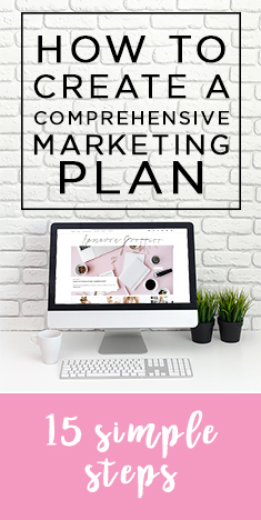 how to create a comprehensive marketing plan
