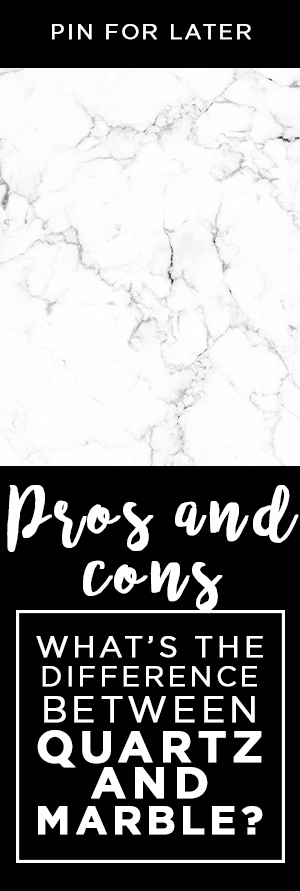 What's the Difference in Quartz vs. Marble Countertops? - Pros and cons of quartz - Pros and cons of marble - Best stones for white countertops - What's the Difference between Quartz vs. Marble - Best Choice for Countertops?