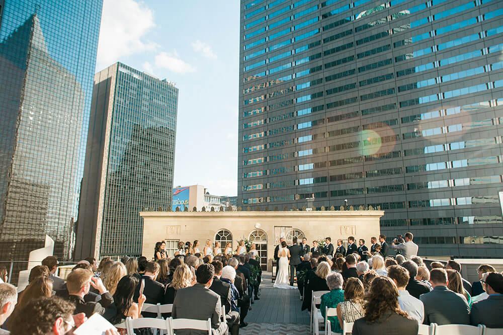 Top 8 prettiest wedding venues in Dallas - The Venue at 400 North Ervay