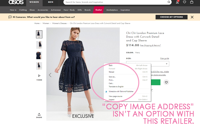 How to Insert Product Image Links in a Facebook Catalog