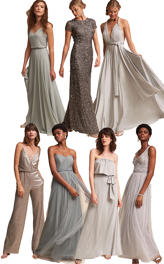 Where To Shop For Mix And Match Bridesmaids Dresses Online