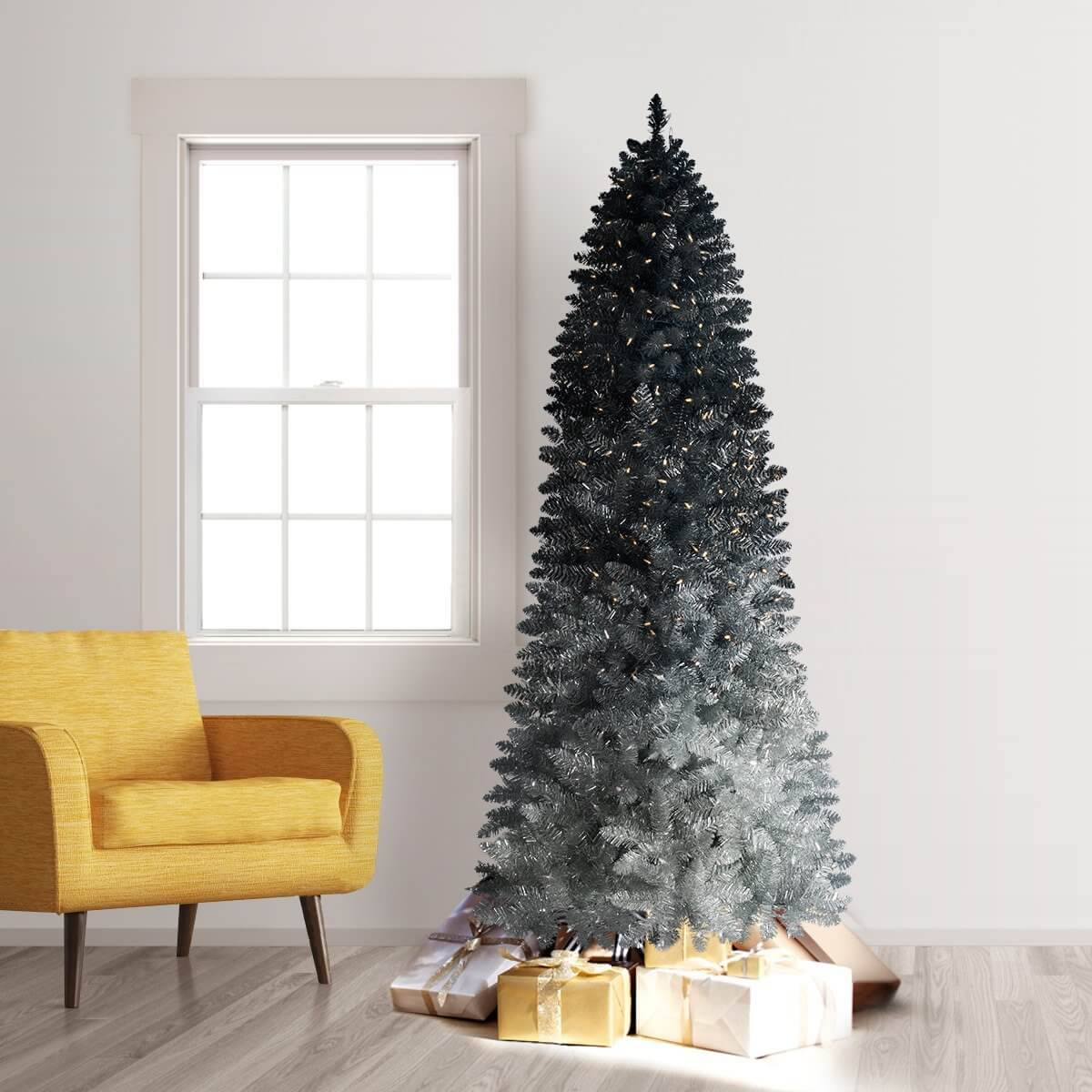 4 ombr christmas trees to light up your holidayslooking to brighten up your home - Christmas Tree Black