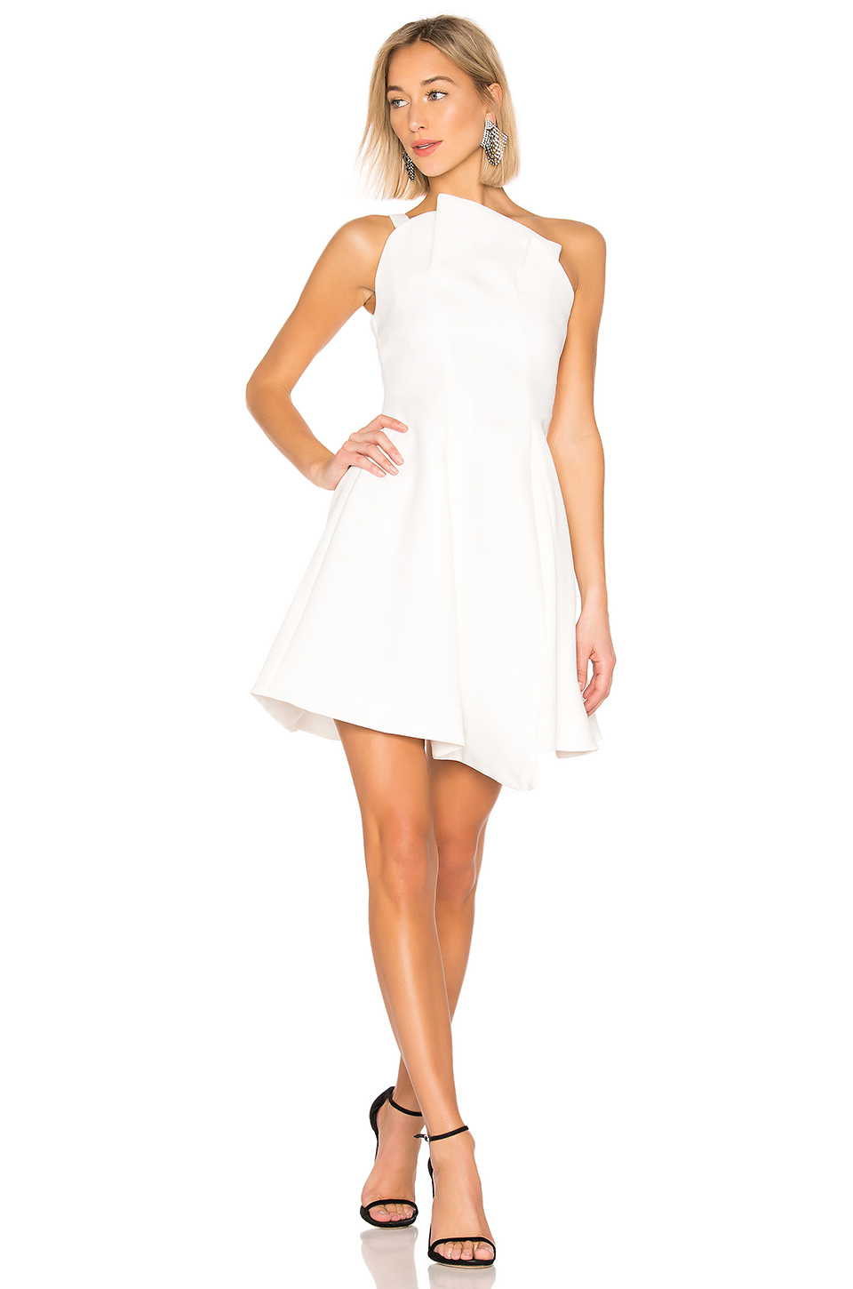 7b12c9cb727 Where to Find a White Rehearsal Dinner Dress in Winter
