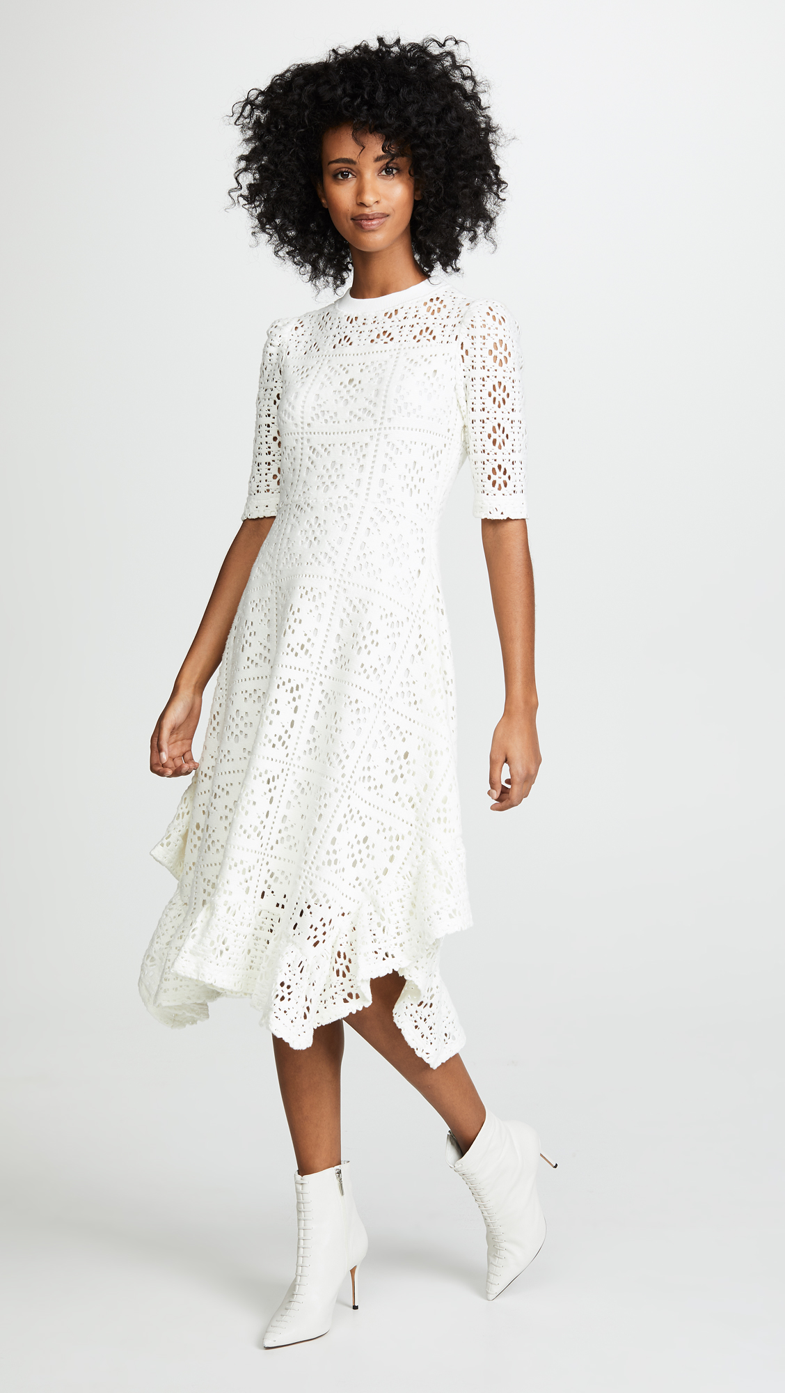 486917a9f5e Where to Find a White Rehearsal Dinner Dress in Winter