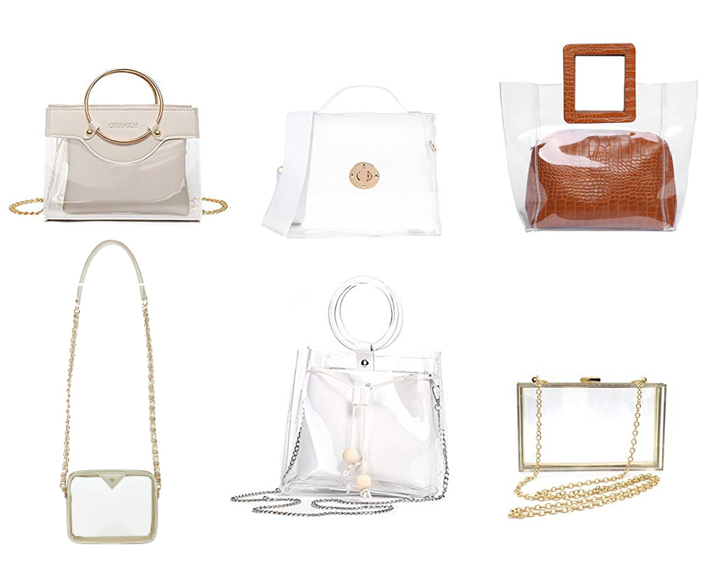 ef5075982dfc Cute Clear Bags for Football Games | Clear Stadium Crossbody Bag