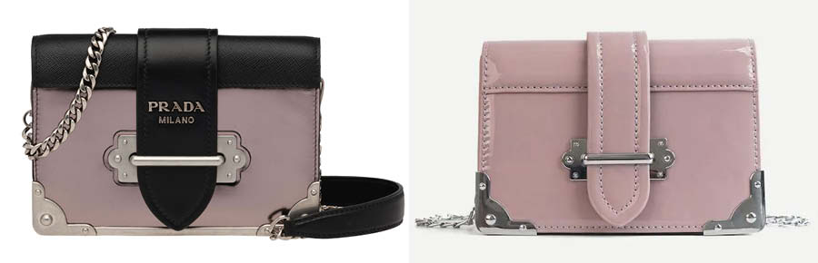 Prada Cahier bag dupes on Amazon for less. Best Prada bag dupes. Prada  Cahier 815372efd941d