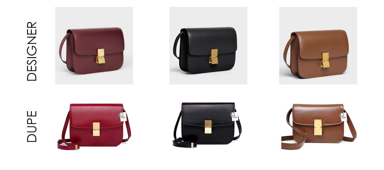 Céline Box Bag Dupes On Dupe Replicas
