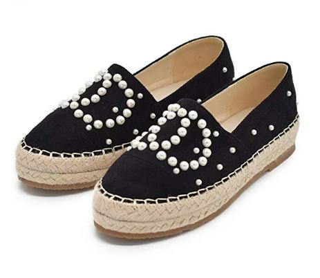 efe295ea9ed0c4 ULTIMATE Guide to Chanel Espadrille Replicas | $30 Chanel Dupes