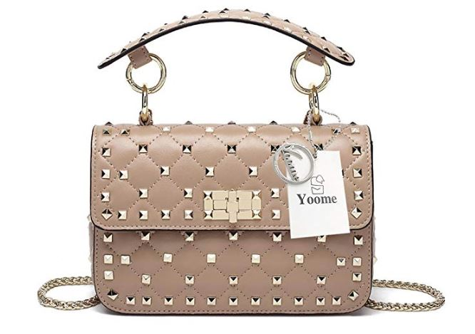 55a3a34b606 Valentino Rockstud dupe. Valentino Rockstud inspired bags.